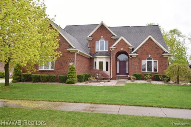 14168 Mandarin Drive, Shelby Twp, MI 48315 (#219047760) :: The Alex Nugent Team | Real Estate One