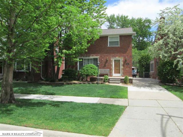1912 Prestwick, Grosse Pointe Woods, MI 48236 (MLS #58031380775) :: The Toth Team