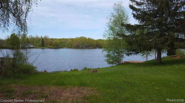 4894 Bluewater Drive, Otter Lake Vlg, MI 48464 (MLS #219047860) :: The Toth Team