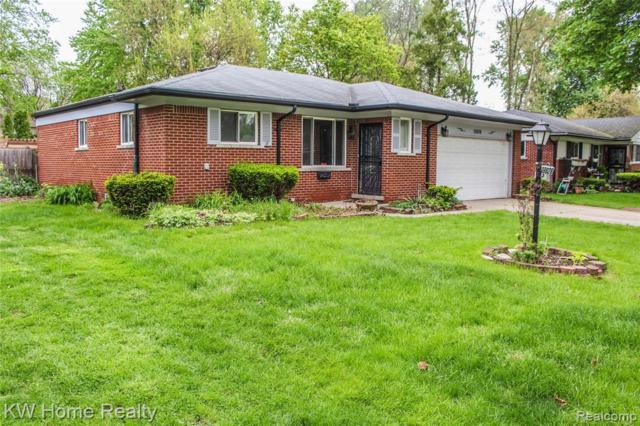19826 Magnolia Parkway, Southfield, MI 48075 (#219048037) :: The Buckley Jolley Real Estate Team