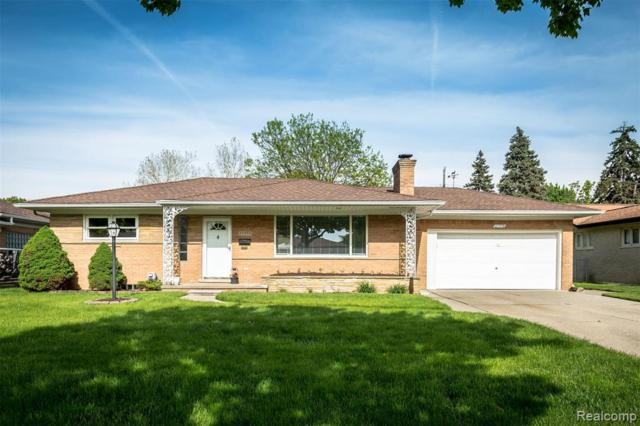 27570 Sylvan Avenue, Warren, MI 48093 (MLS #219048266) :: The Toth Team