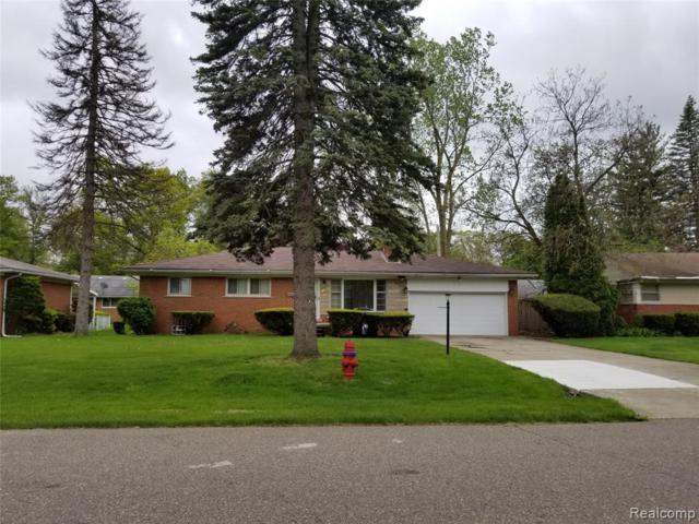 19591 Hazelhurst St Street, Southfield, MI 48075 (MLS #219048623) :: The Toth Team