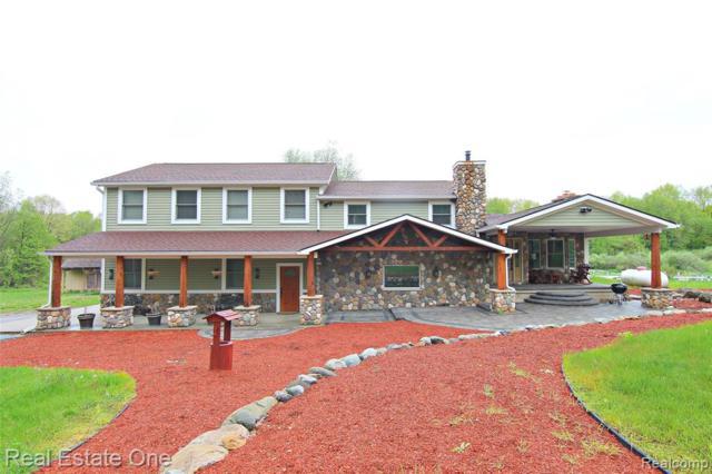 9825 Melissa Lane, Springfield Twp, MI 48350 (#219049002) :: The Alex Nugent Team | Real Estate One