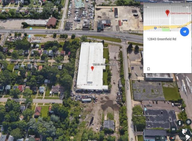 12843 Greenfield Road, Detroit, MI 48227 (MLS #219049156) :: The Toth Team