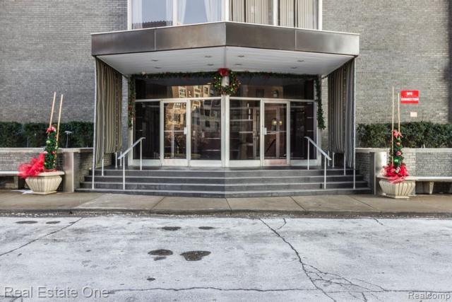 8200 E Jefferson #810 Avenue, Detroit, MI 48214 (MLS #219049360) :: The Toth Team