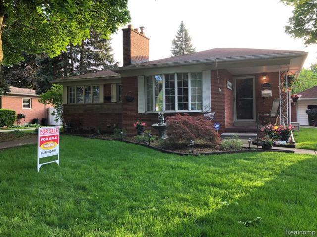 9804 Chatham Avenue, Allen Park, MI 48101 (#219049544) :: The Alex Nugent Team | Real Estate One