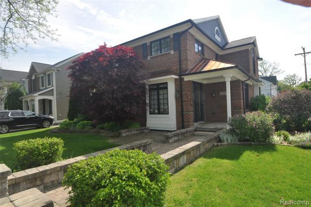 1710 Pierce Street, Birmingham, MI 48009 (#219050237) :: RE/MAX Classic