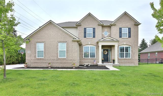52488 Indian Summer Drive, Chesterfield Twp, MI 48051 (#219051172) :: The Alex Nugent Team   Real Estate One