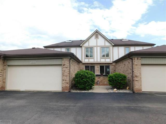 49370 Mayflower Ct., Shelby Twp, MI 48315 (#58031381794) :: The Alex Nugent Team | Real Estate One