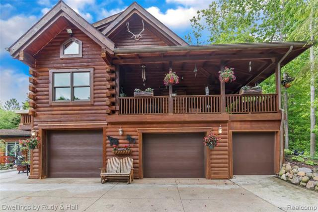 2072 W Barron Road, Howell Twp, MI 48855 (#219051275) :: The Alex Nugent Team | Real Estate One