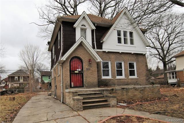 3835 Courville Street, Detroit, MI 48224 (MLS #219051352) :: The Toth Team
