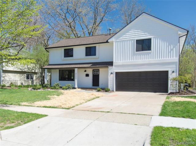 2885 Ticknor Court, Ann Arbor, MI 48104 (#219051533) :: Team Sanford