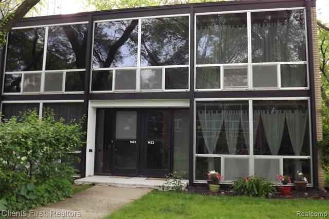 1423 Nicolet Place, Detroit, MI 48207 (#219054292) :: The Buckley Jolley Real Estate Team