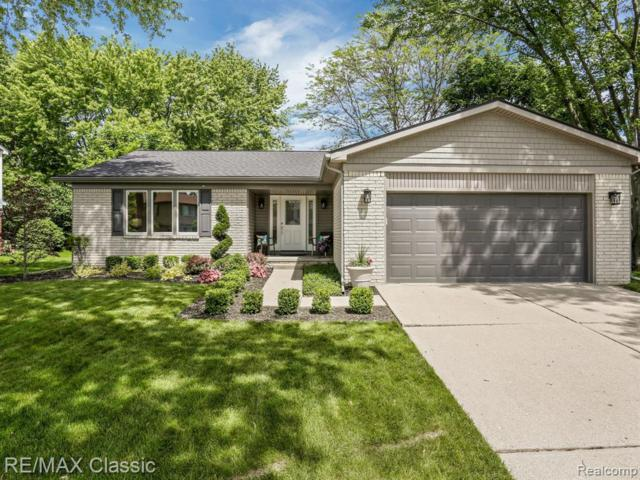21828 Arbor Lane, Novi, MI 48375 (#219054397) :: The Buckley Jolley Real Estate Team