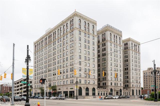 15 E Kirby Street #1104, Detroit, MI 48202 (#219054456) :: The BK Agency