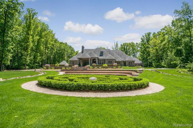 21951 Kettle Lake Road, Lyon Twp, MI 48167 (#219055431) :: The Alex Nugent Team | Real Estate One