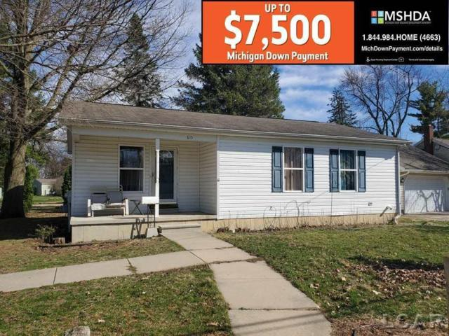 615 Giles Ave., Blissfield, MI 49228 (MLS #56031383124) :: The Toth Team