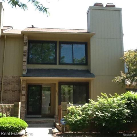 1693 S Hill Boulevard #54, Bloomfield Twp, MI 48304 (#219055910) :: The Alex Nugent Team | Real Estate One
