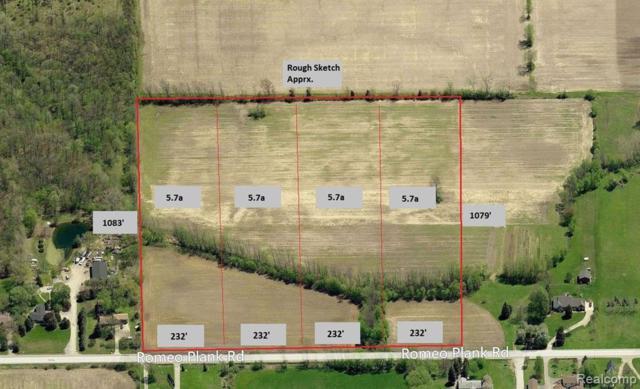 0 Romeo Plank, Ray Twp, MI 48096 (#219056155) :: The Buckley Jolley Real Estate Team
