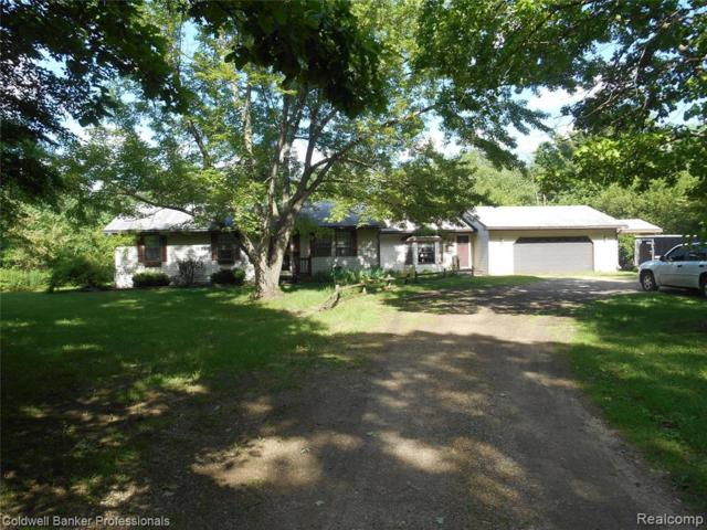 4896 Five Lakes Road, North Branch Twp, MI 48461 (#219056408) :: The Mulvihill Group