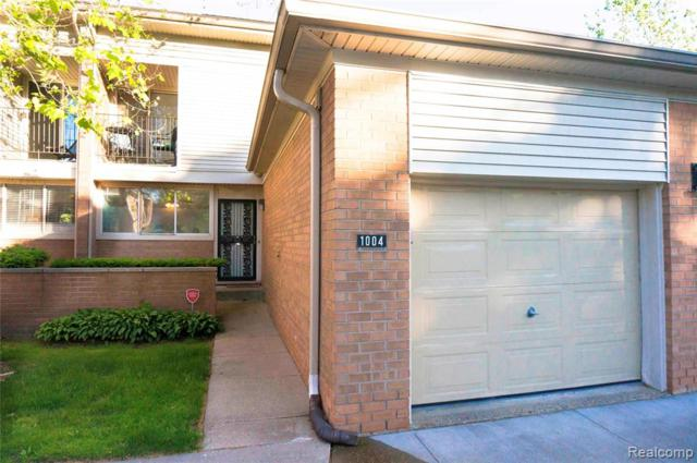1004 Stafford Place, Detroit, MI 48207 (#219056581) :: The Buckley Jolley Real Estate Team