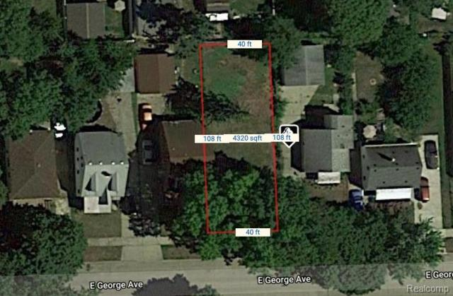 1147 E George Avenue, Hazel Park, MI 48030 (#219056891) :: The Alex Nugent Team   Real Estate One
