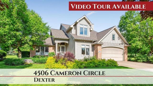 4506 Cameron Circle, Webster Twp, MI 48130 (MLS #543265989) :: The Toth Team