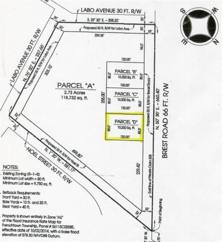 0 Brest Road Lot D, Frenchtown Twp, MI 48166 (#57031383660) :: The Mulvihill Group