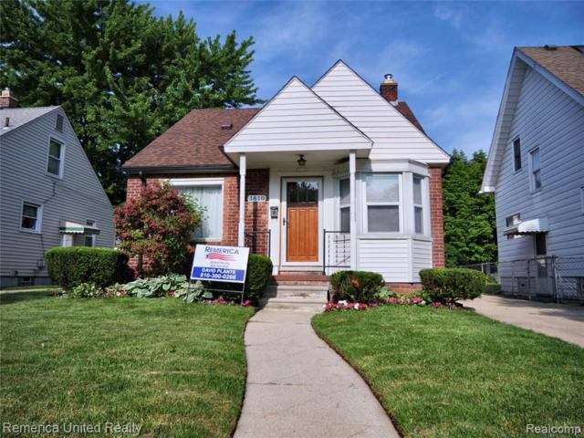 1810 N Mildred Street, Dearborn, MI 48128 (#219057314) :: Team Sanford