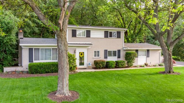 1162 Peveril Road, Bloomfield Twp, MI 48304 (#219057319) :: The Alex Nugent Team | Real Estate One