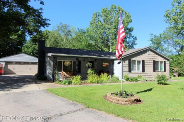 11089 Bigelow Road, Springfield Twp, MI 48350 (#219057530) :: Keller Williams West Bloomfield