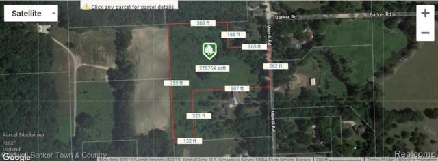 9473 Merrill Road, Dexter, MI 48189 (#219057600) :: The Buckley Jolley Real Estate Team