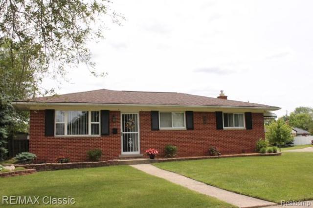 718 Tanglewood Drive, Madison Heights, MI 48071 (#219057689) :: Team Sanford