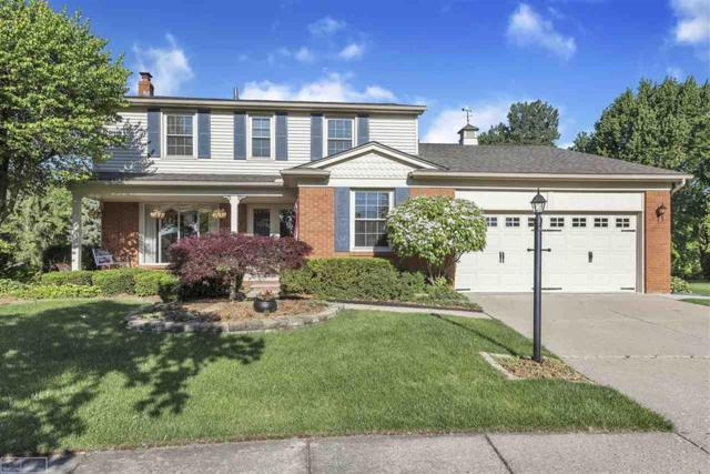 44421 Thunder Bay Dr., Clinton Twp, MI 48038 (#58031383816) :: Alan Brown Group