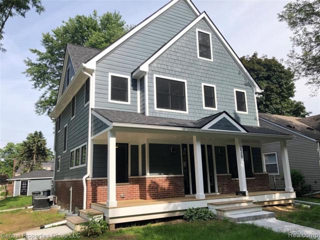 230 N Connecticut Avenue, Royal Oak, MI 48067 (#219057809) :: Alan Brown Group