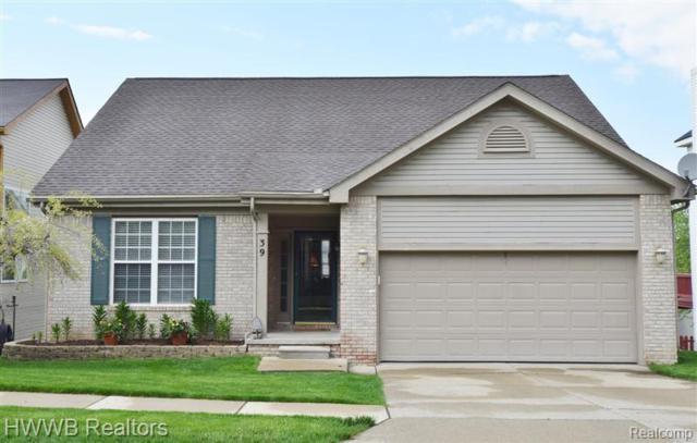 39 Eagle Ridge Road, Orion Twp, MI 48360 (#219057891) :: The Alex Nugent Team | Real Estate One