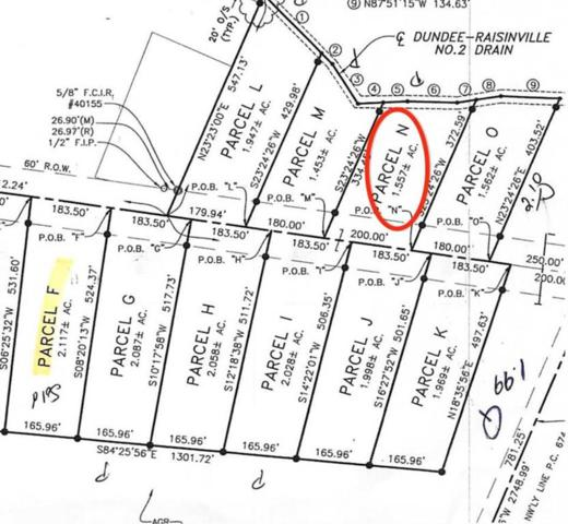 11020 S Custer, Raisinville Twp, MI 48161 (#57031383868) :: GK Real Estate Team