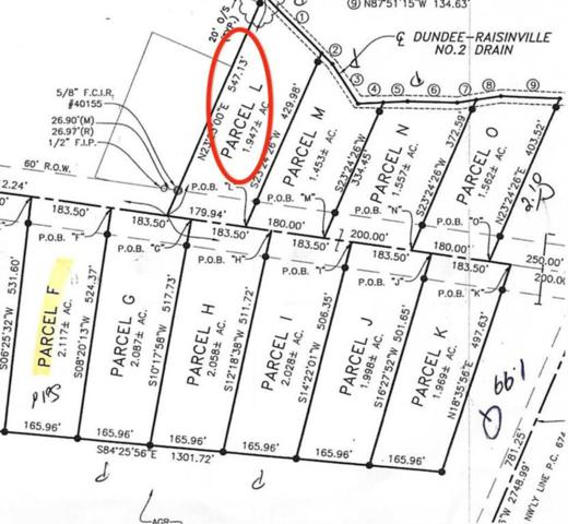 11140 S Custer, Raisinville Twp, MI 48161 (#57031383867) :: The Alex Nugent Team | Real Estate One