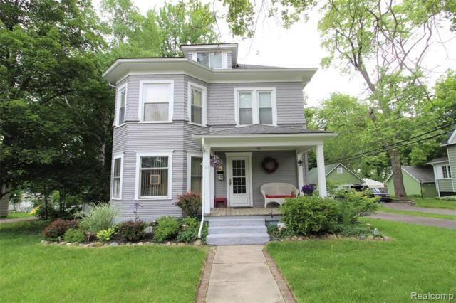 125 Grove Avenue, Imlay City, MI 48444 (#219057995) :: The Alex Nugent Team | Real Estate One