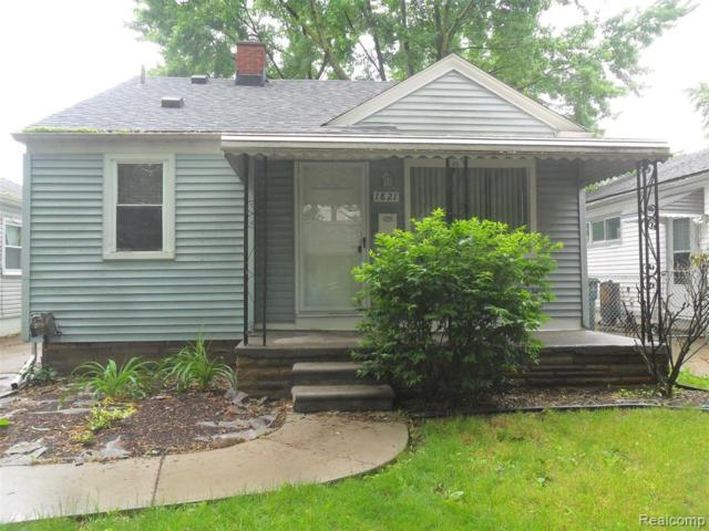 1821 Oconnor Avenue, Lincoln Park, MI 48146 (#219058059) :: The Buckley Jolley Real Estate Team