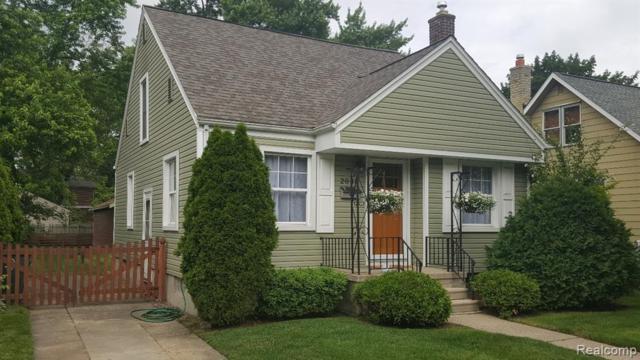 2035 N Connecticut Avenue, Royal Oak, MI 48073 (#219058819) :: Alan Brown Group
