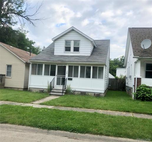 110 W Milton Avenue, Hazel Park, MI 48030 (#219059074) :: RE/MAX Nexus