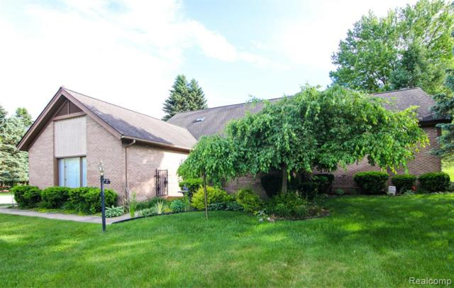 41 Cross Creek Boulevard, Rochester Hills, MI 48306 (#219059096) :: Alan Brown Group