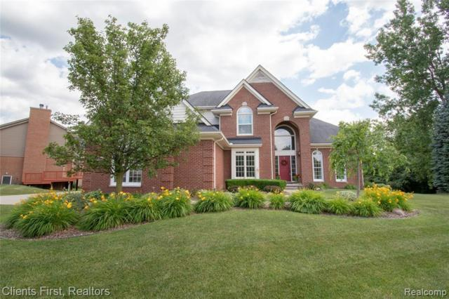 48695 Timber Crest Court, Plymouth Twp, MI 48170 (#219059756) :: Duneske Real Estate Advisors