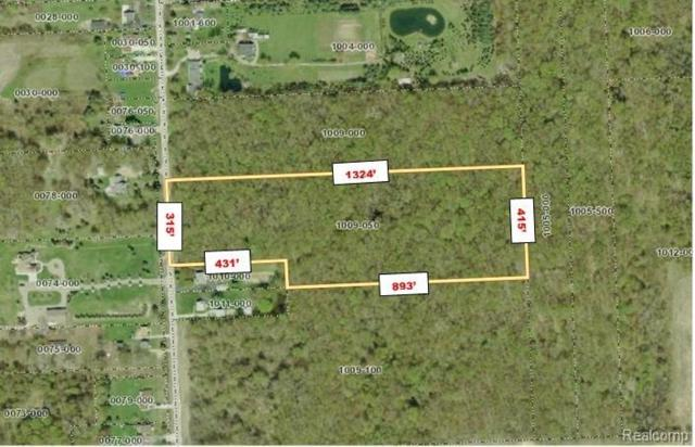 0 Church Lot 2 Road, Ira Twp, MI 48023 (#219060766) :: The Buckley Jolley Real Estate Team