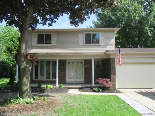 41037 Oak Hill Drive, Clinton Twp, MI 48038 (#219060918) :: The Buckley Jolley Real Estate Team