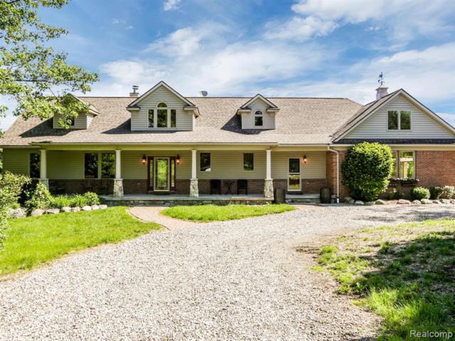 2602 Fox Cove, Addison Twp, MI 48370 (#219061171) :: The Alex Nugent Team   Real Estate One