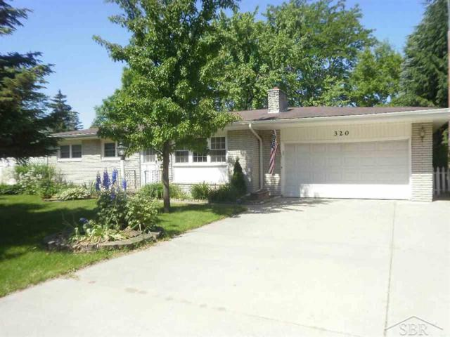 320 10TH, Tittabawassee Twp, MI 48623 (#61031384820) :: Team Sanford