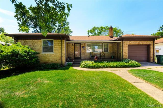 361 W Madge Avenue, Hazel Park, MI 48030 (#219061763) :: The Buckley Jolley Real Estate Team