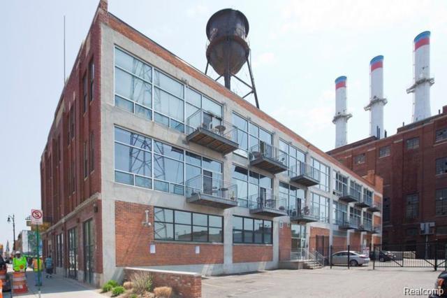 55 W Canfield Street #204, Detroit, MI 48201 (#219061944) :: The Buckley Jolley Real Estate Team
